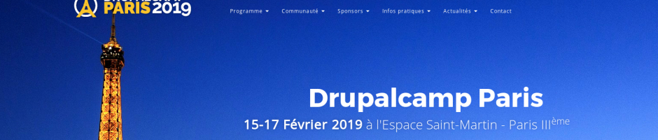 Drupalcamp Paris