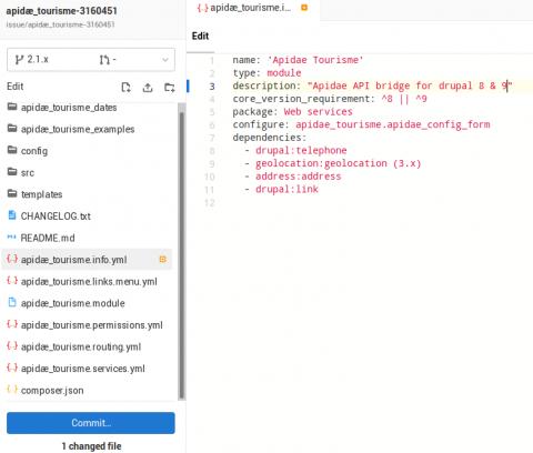 Gitlab web ide